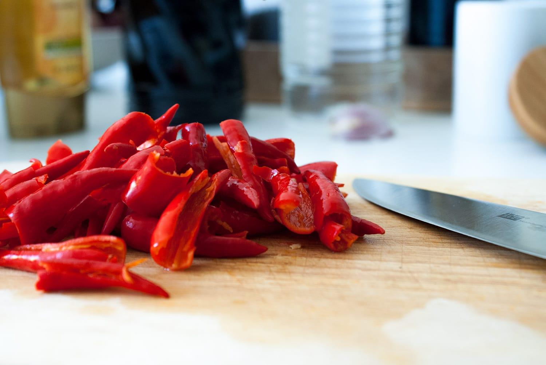 Schnelle Sriracha Soße | Vegan | Healthy | Rezept | Food | ivy.li