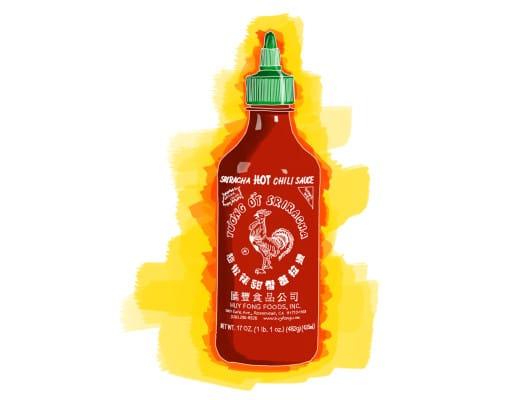 ivy.li | Scharfe Soßen | Gezeichnet | 01 | Sriracha