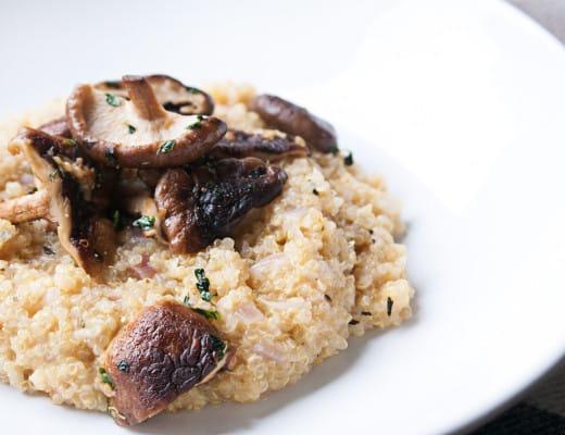 Risotto mit Quinoa und Shiitake | ivy.li | Food | Rezept