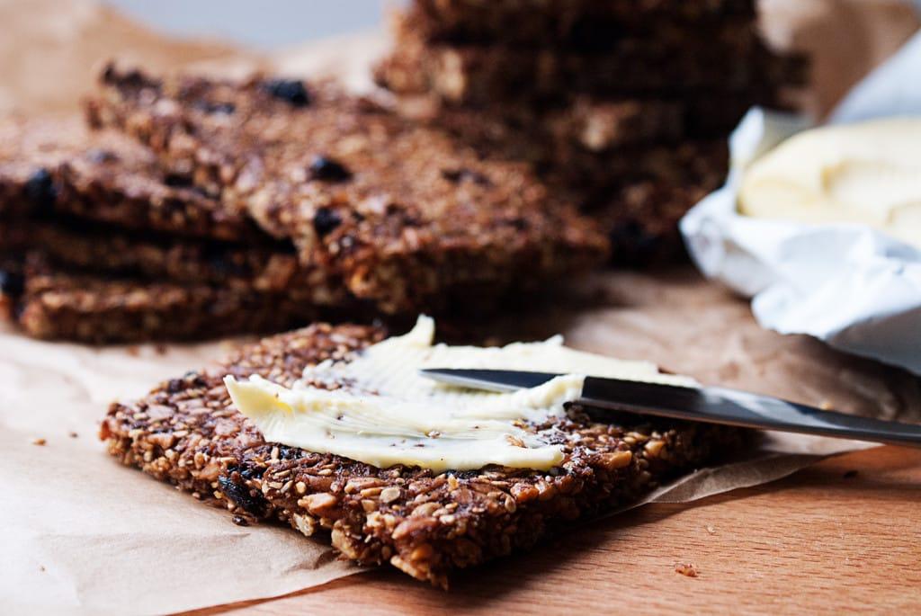Süßes Knäckebrot | Gluten- & getreidefrei | Rezept | Food | ivy.li
