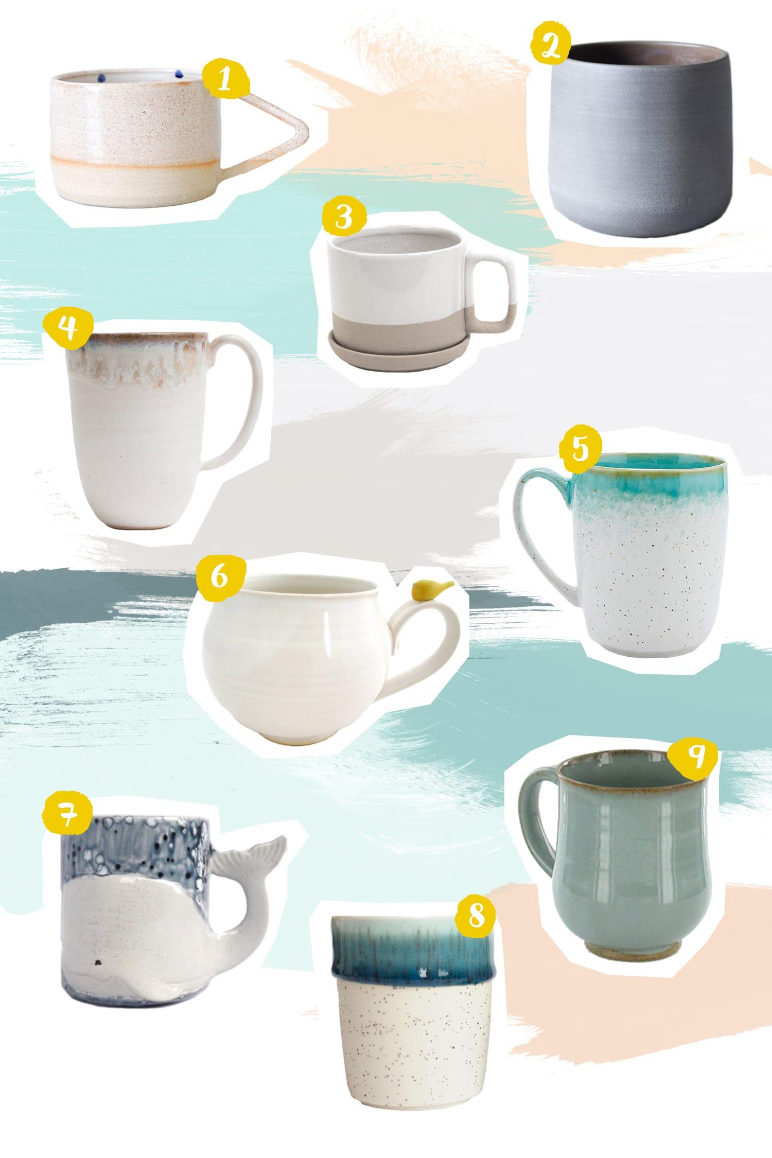 Wishlist | Becherliebe | Tassen und Becher | Keramik | Interior | ivy.li