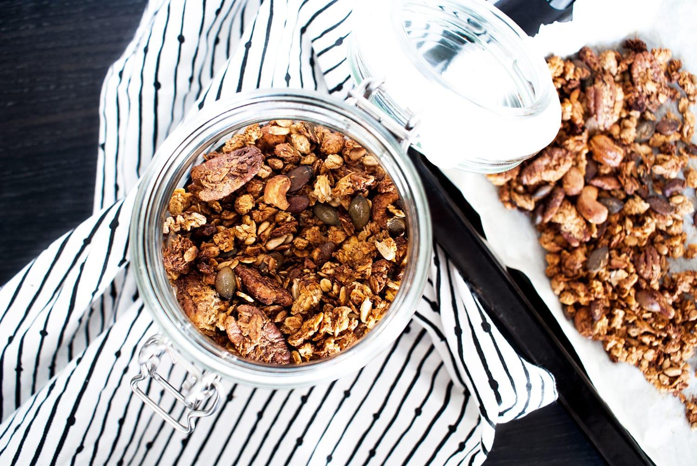 Banana Granola | Rezept | Vegan | Glutenfrei | Food | ivy.li