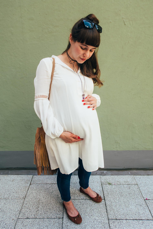 #bumpstyle | Outfit | Fashion | Pregnancy | Ein letzter Spaziergang mit Babybauch | ivy.li