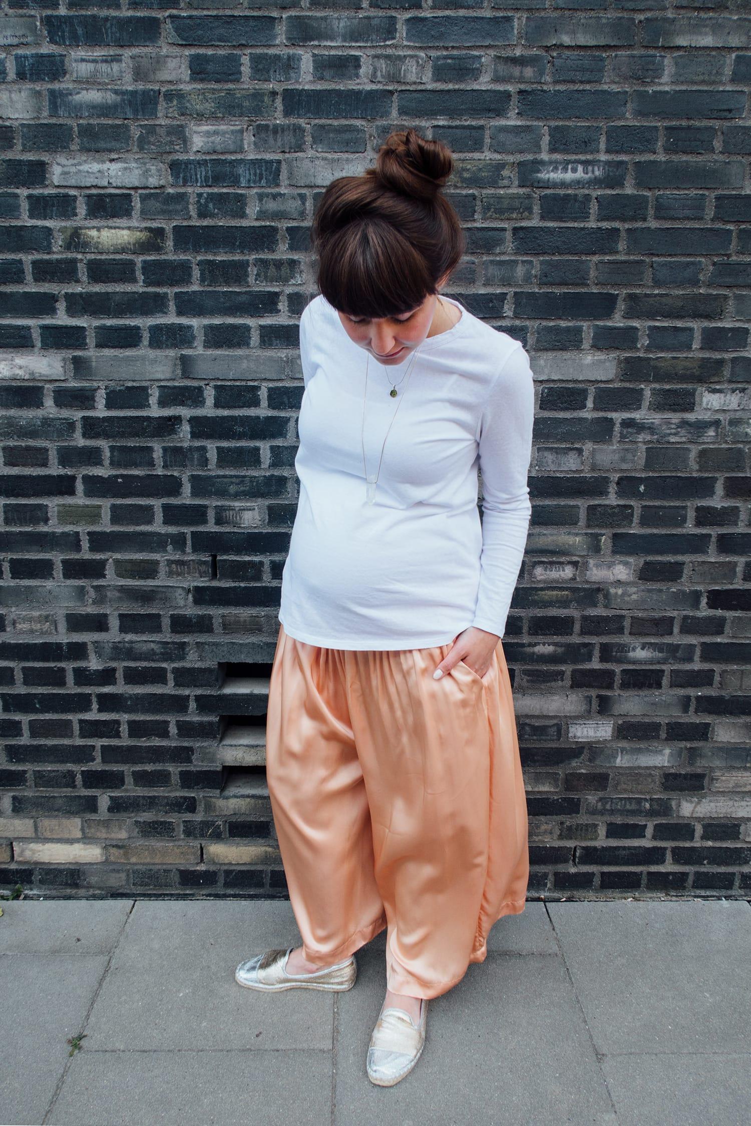 Outfit | Apricot Culotte | Fashion | ivy.li