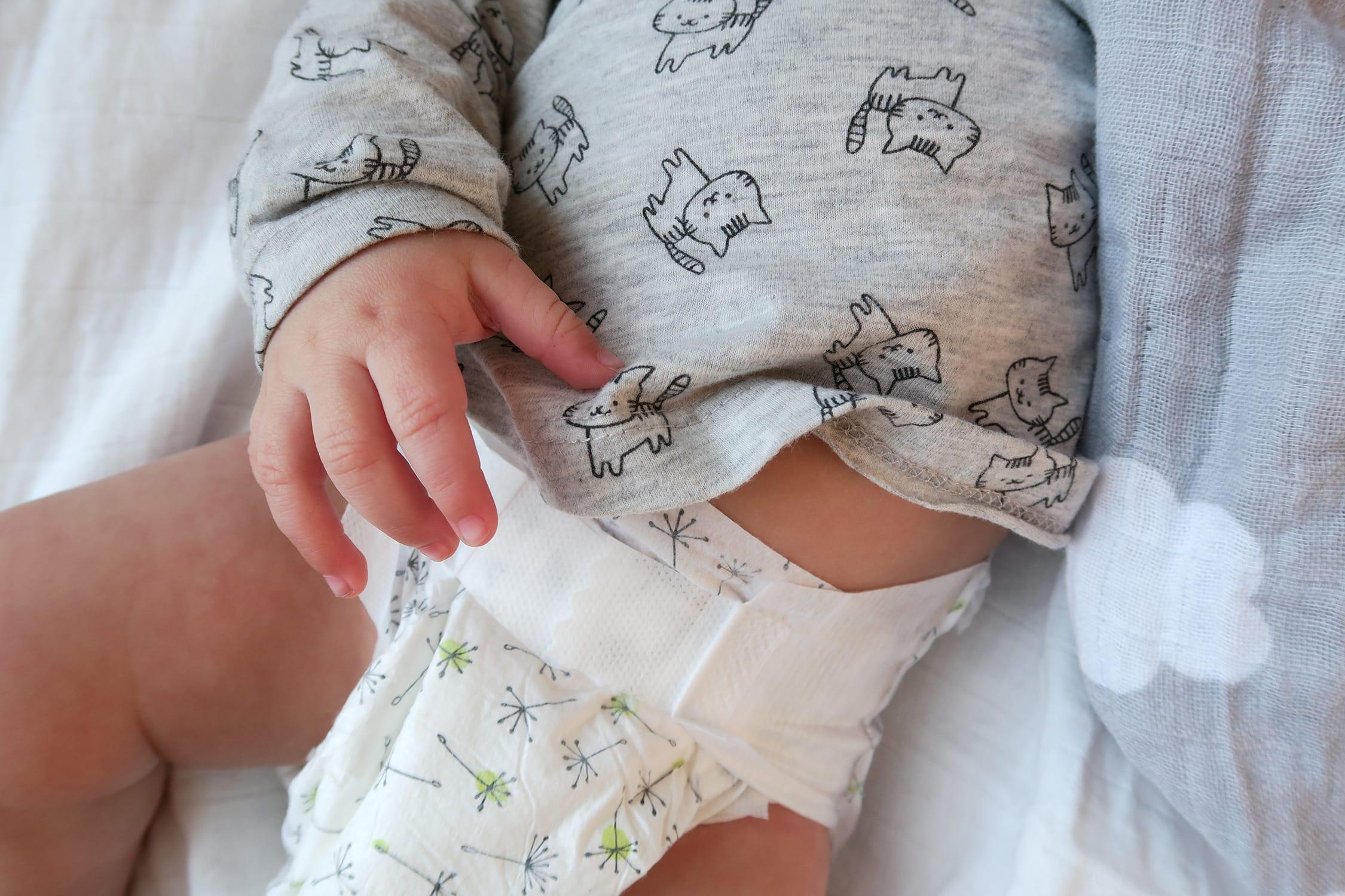 Nachhaltigkeit und Achtsamkeit bei der Babypflege | Wickeln mit LILLYOO