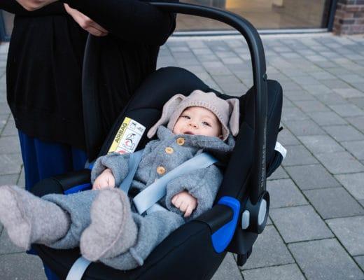 Sicher mit Baby unterwegs im Auto | Worauf man achten muss | Autofahren mit Baby | Babyschale | Sicherheit | Autofahren im Winter | Britax Römer BABY-SAFE i-SIZE | ivy.li