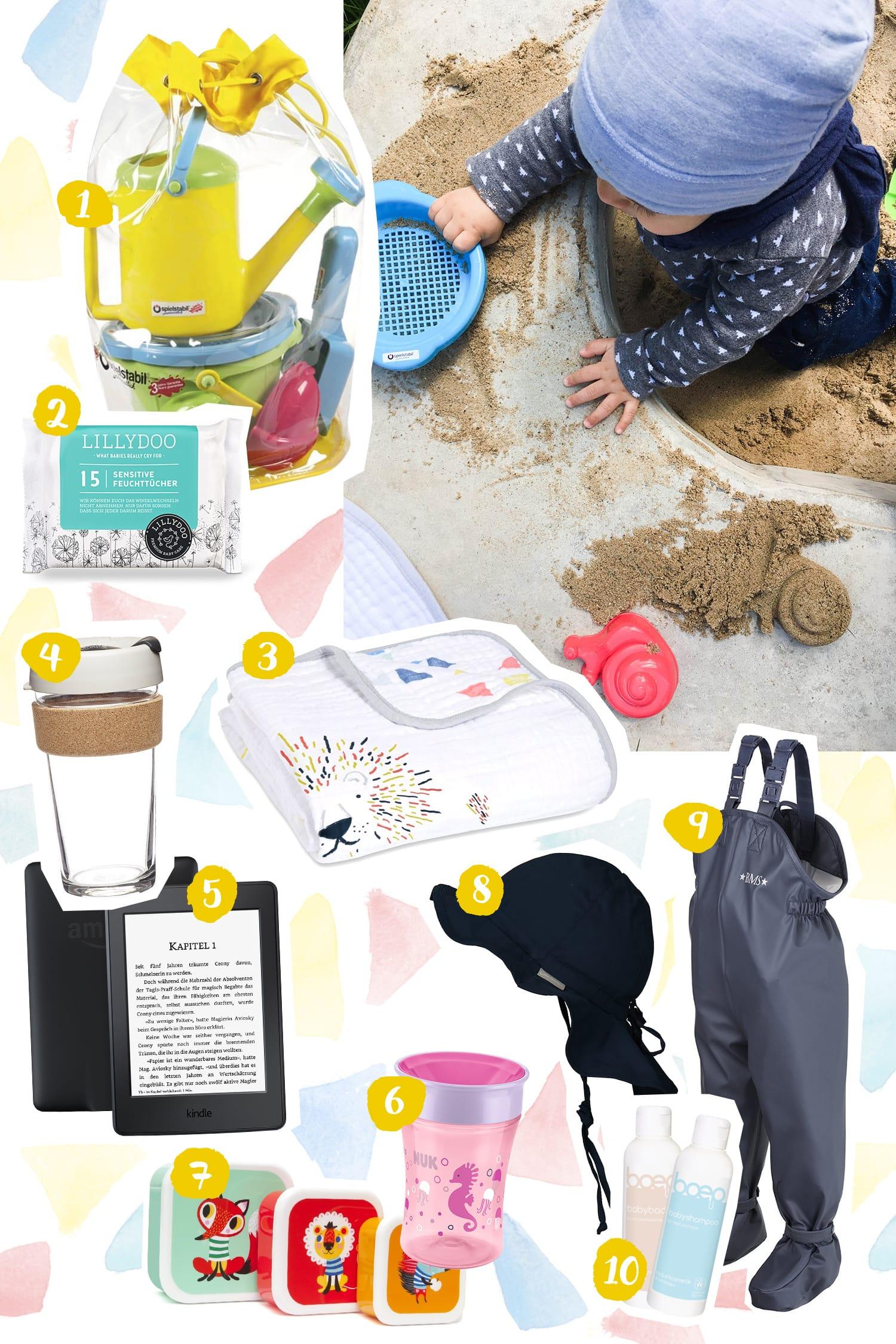 Spielplatzkind | Unsere Essentials für einen Ausflug in die Sandkiste | Essential | Whishlist