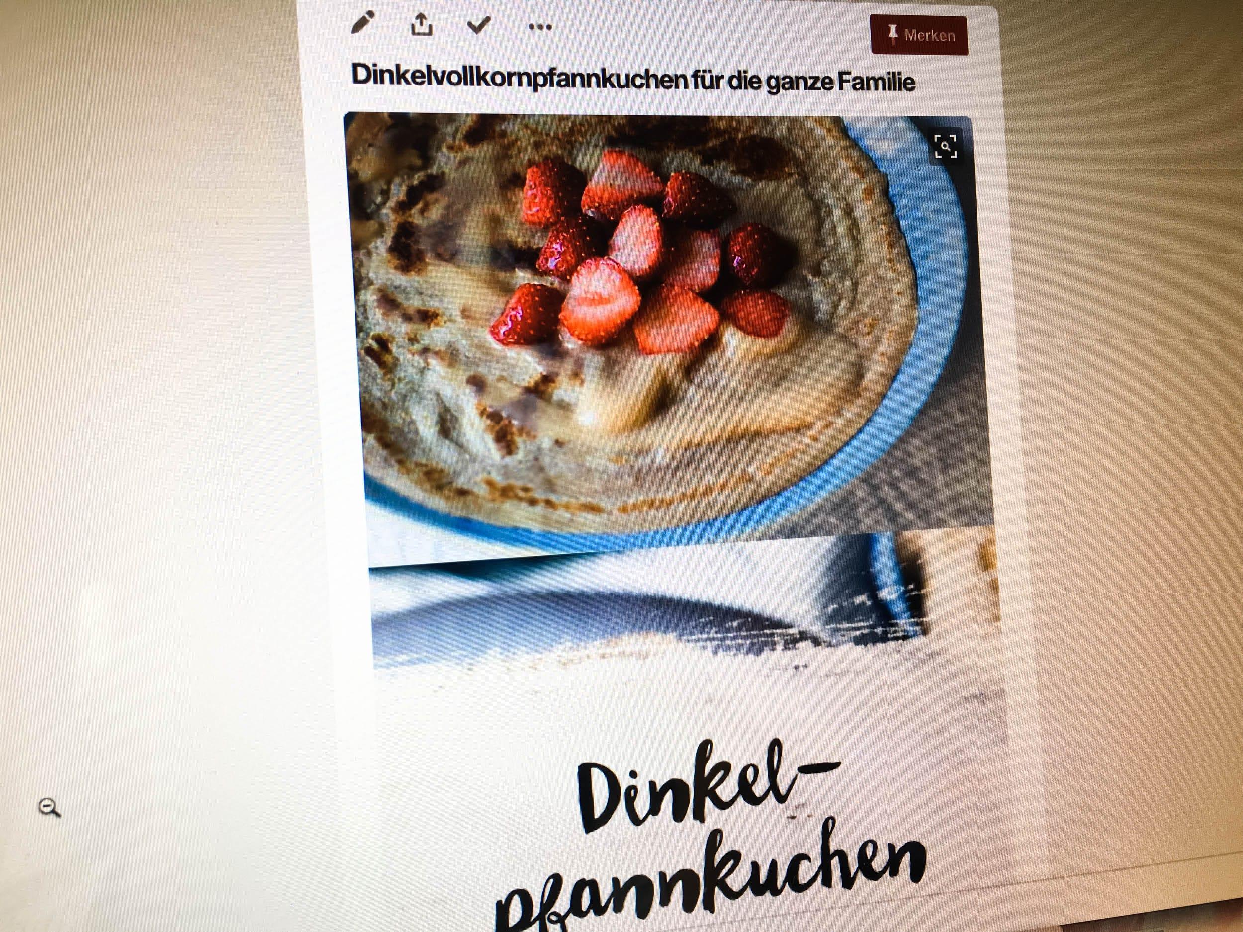 Dinkelvollkornpfannkuchen | Rezept | Pinterest | ivy.li