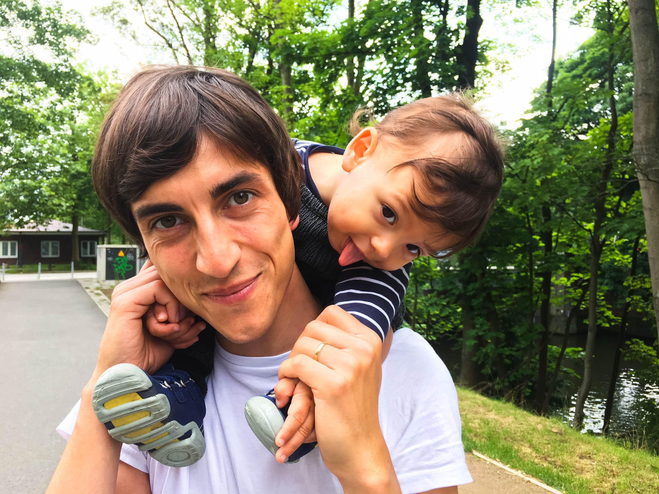 Wochenende in Bildern | Leben mit Kind | Alltag | Papa und Sohn | Quatschkopf | ivy.li