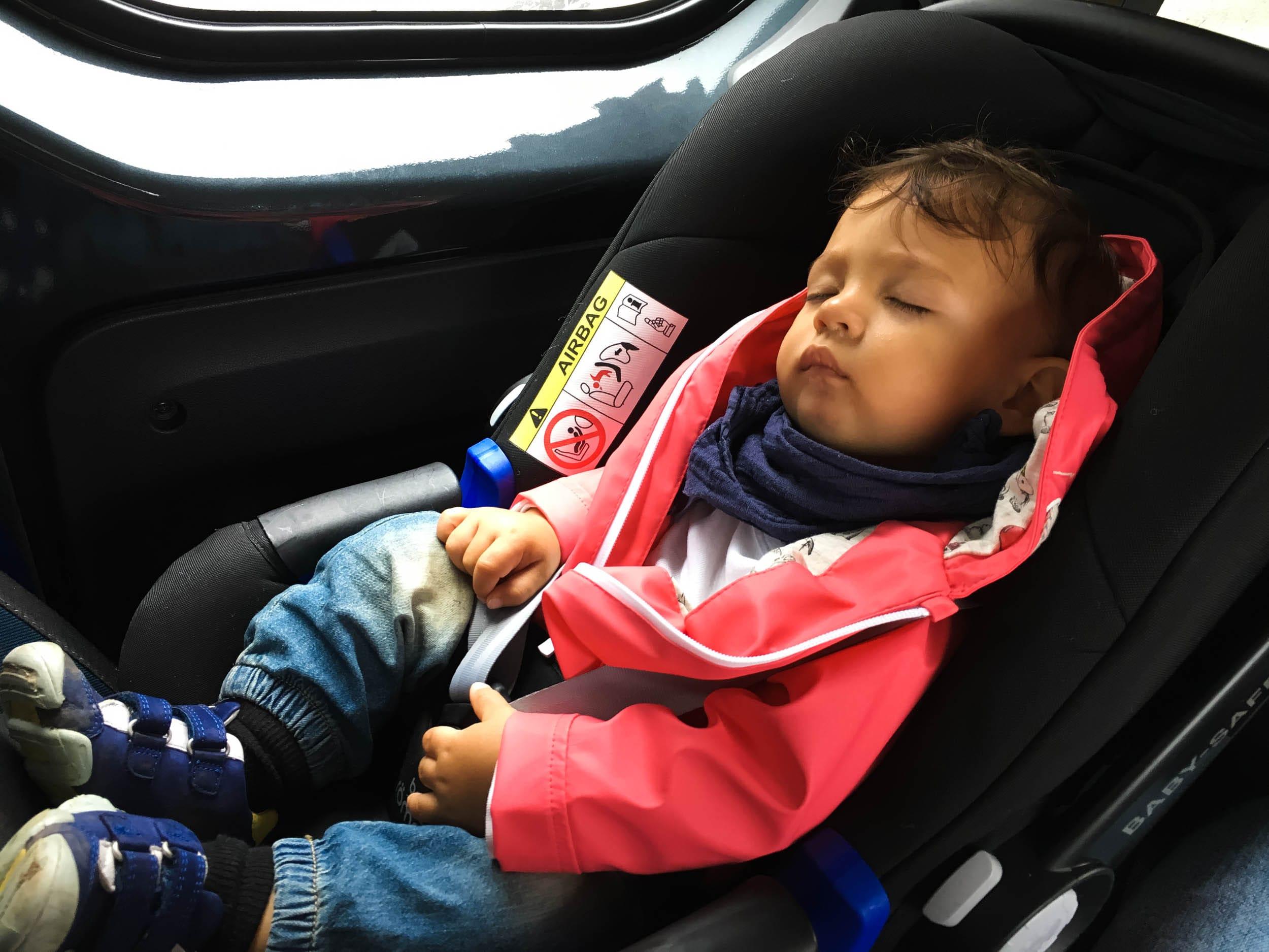 Wochenende in Bildern | Leben mit Kind | Alltag | Mittagsschlaf | Britax Römer | Babyschale | Autofahrt | ivy.li