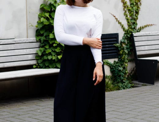 Momstyle | OOTD | Outfit | Fashion | Sneaker | Culotte | ivy.li