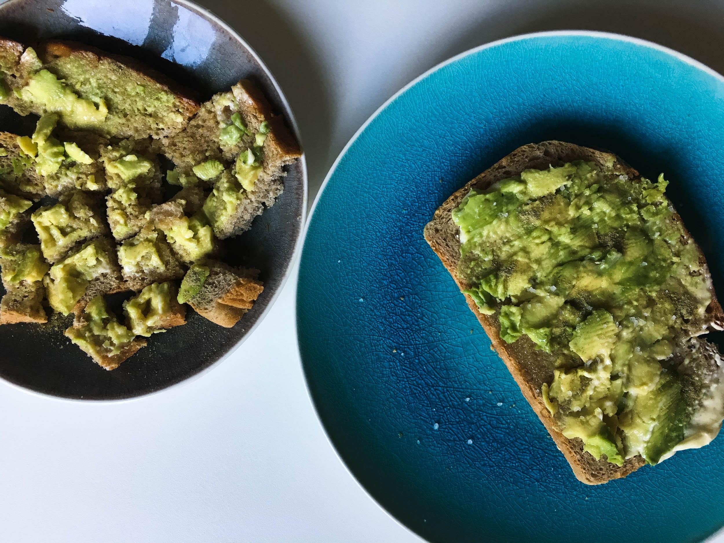 Avocadotoast für Mama, Papa und Kind | ivy.li