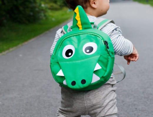 Affenzahn Kindergartenrucksack | Kai Krokodil | KiTa Erstausstattung | ivy.li