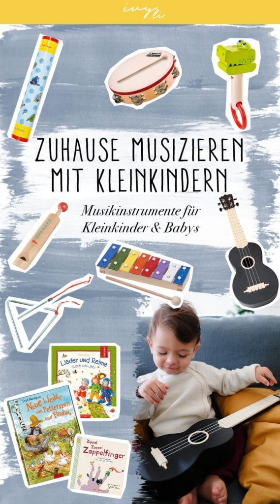 Musikinstrumente für Kleinkinder | Zuhause musizieren mit Kleinkindern und Babys | Liederbücher | Ukulele | Glockenspiel | Tamburin | Regenmacher | Reime & Fingerspiele | Geschenke | Geburtstag | Weihnachten | ivy.li