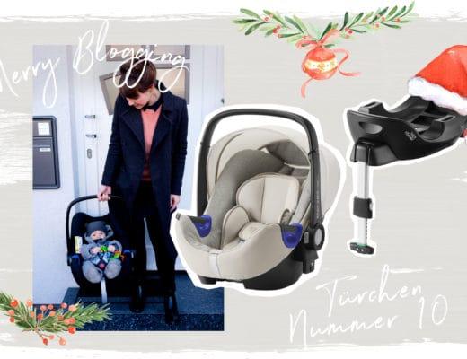 Merry Blogging | Blogger Adventskalender | Türchen Nr. 10 | Babyschale von Britax Römer