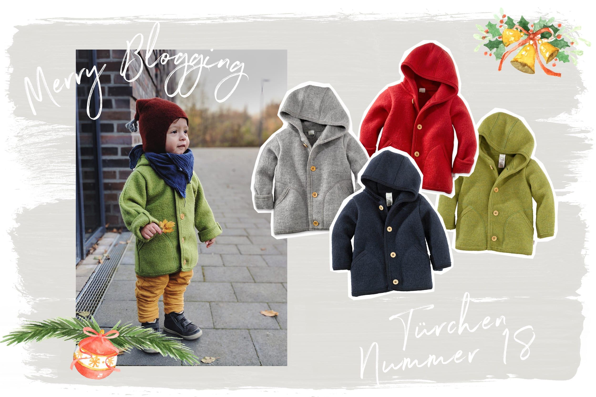 Merry Blogging | Türchen Nr. 18 | Walkjacke von Hessnatur