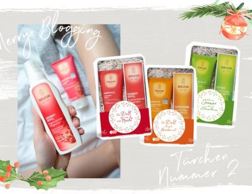 Merry Blogging | Blogger Adventskalender | Türchen Nr. 2 | Geschenk-Set von Weleda