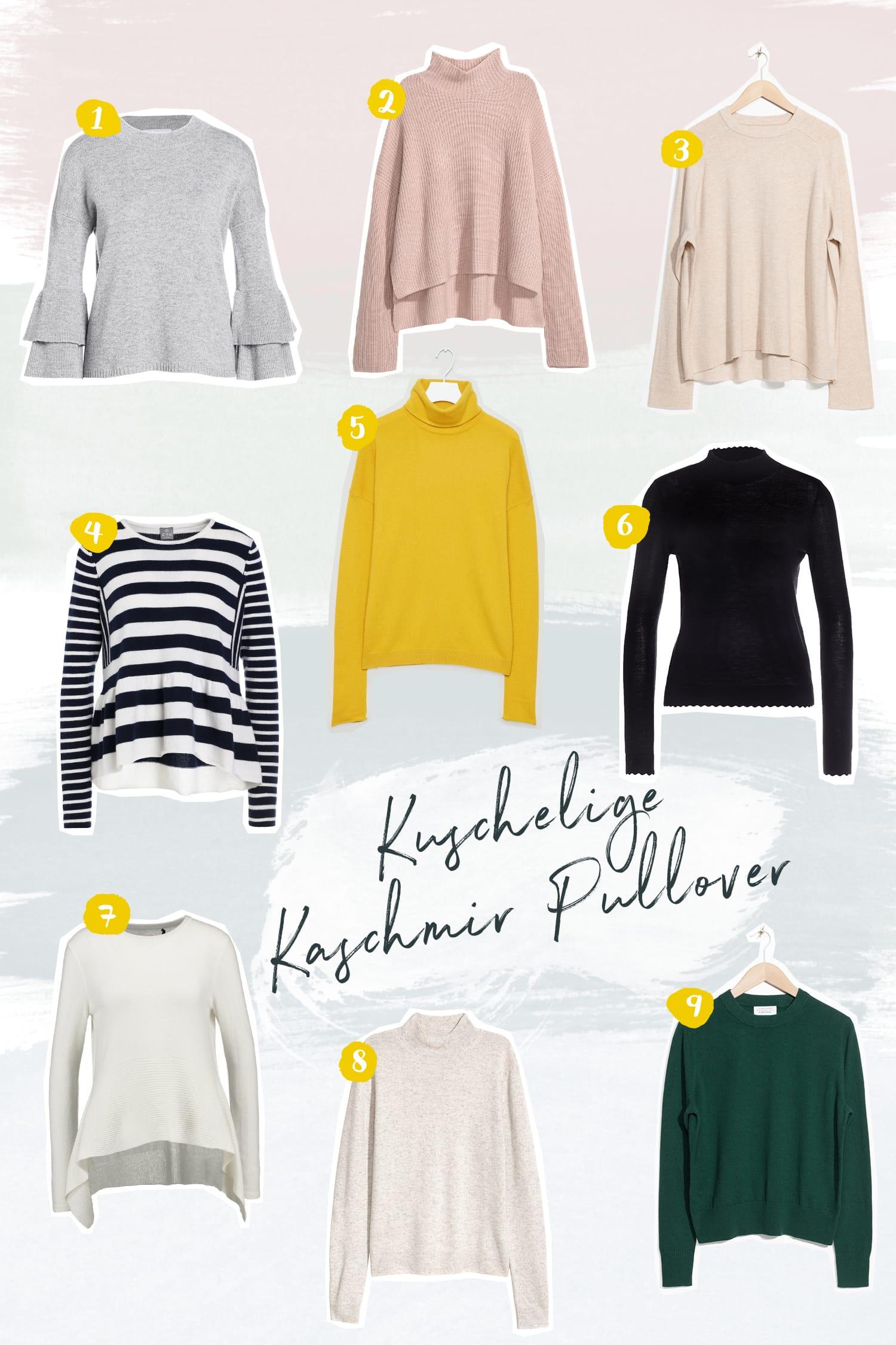 Momstyle in bequemer Baumwollhose und Kaschmir Pullover | Schöne Kaschmir Pullover für den Winter | Fashion | Outfit | Style | ivy.li