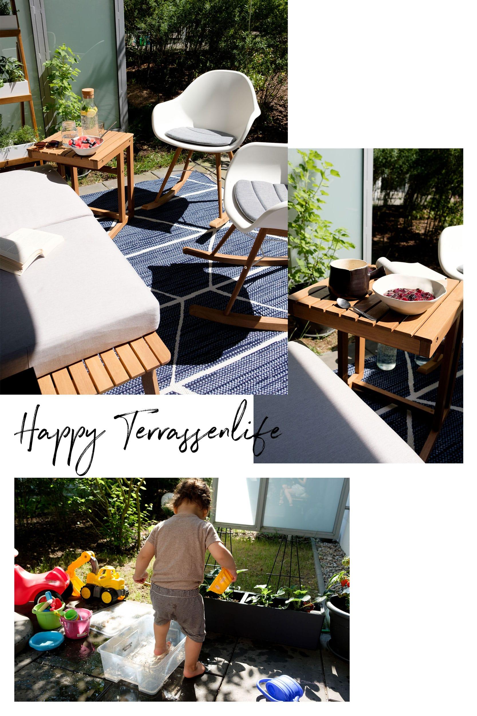Unser Zweites Wohnzimmer Im Grünen Mit Tchibo | Terrassenupdate | Happy  Terrassenlife Mit Den Neuen Möbeln