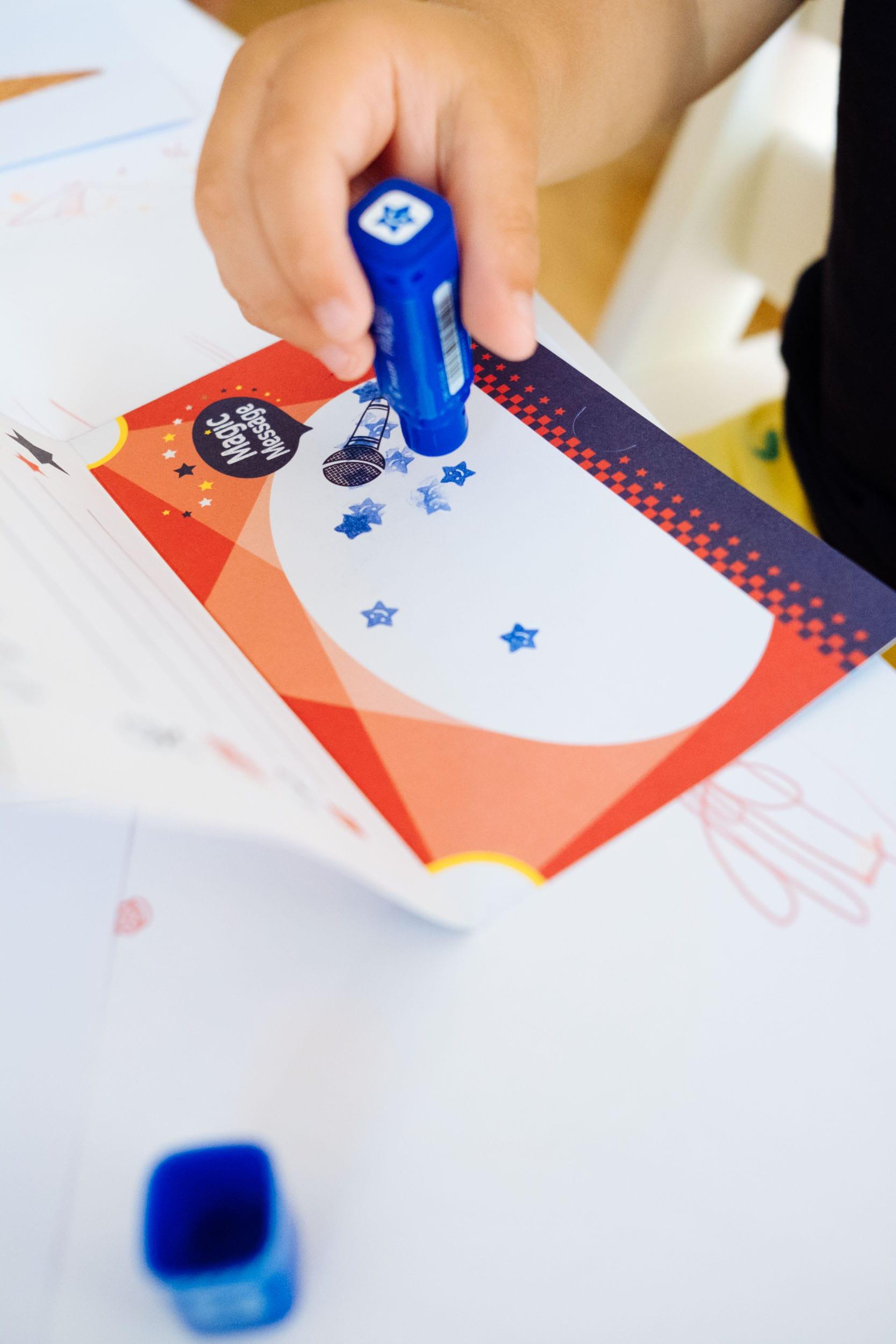 Malen mit Zaubertinte | Einladungskarten mit Geheimbotschaft | PILOT FriXion Colors & myMagic Birthday Cards