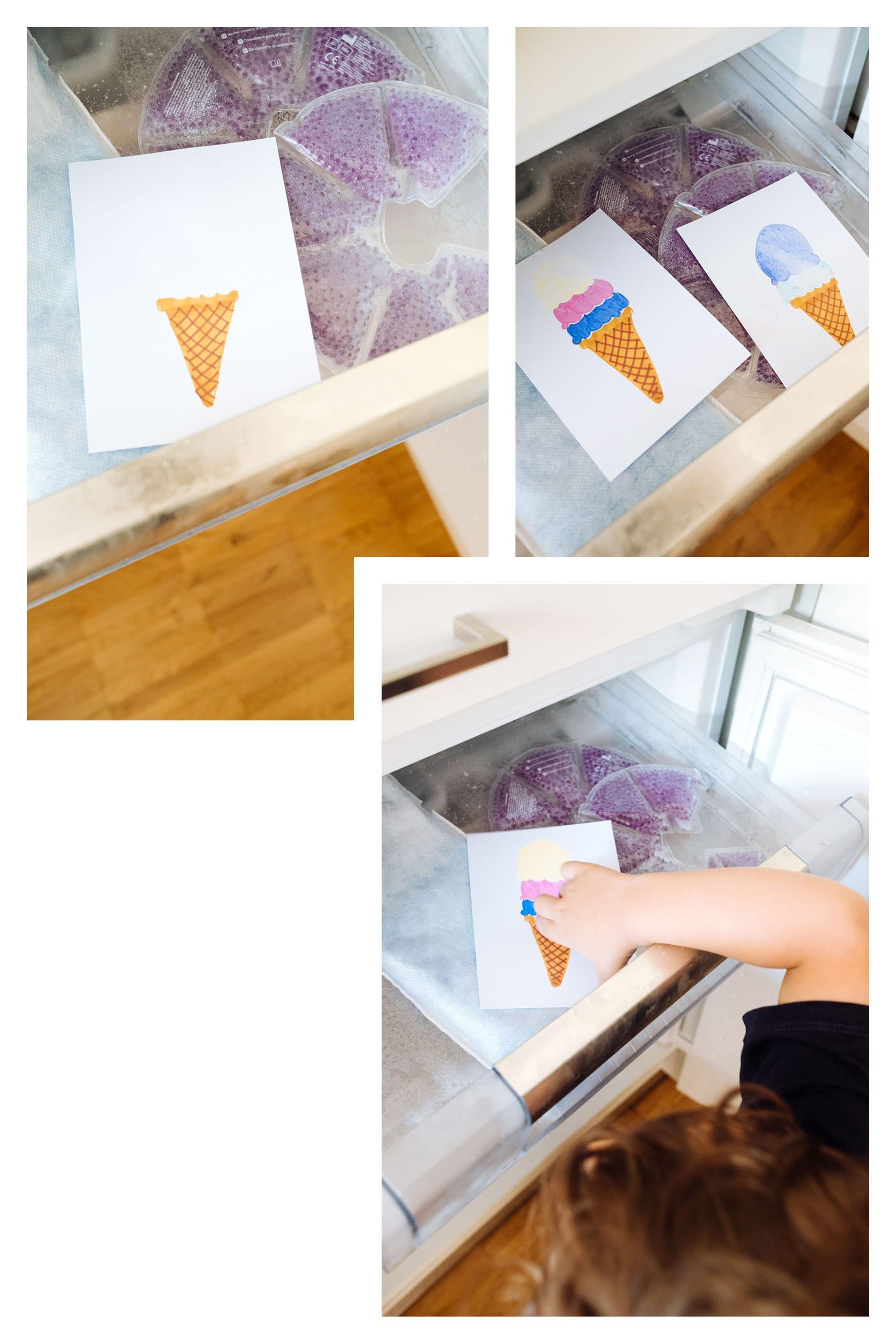Malen mit Zaubertinte | Zaubereis, das bei Hitze verschwindet und bei Kälte wieder auftaucht | PILOT FriXion Colors