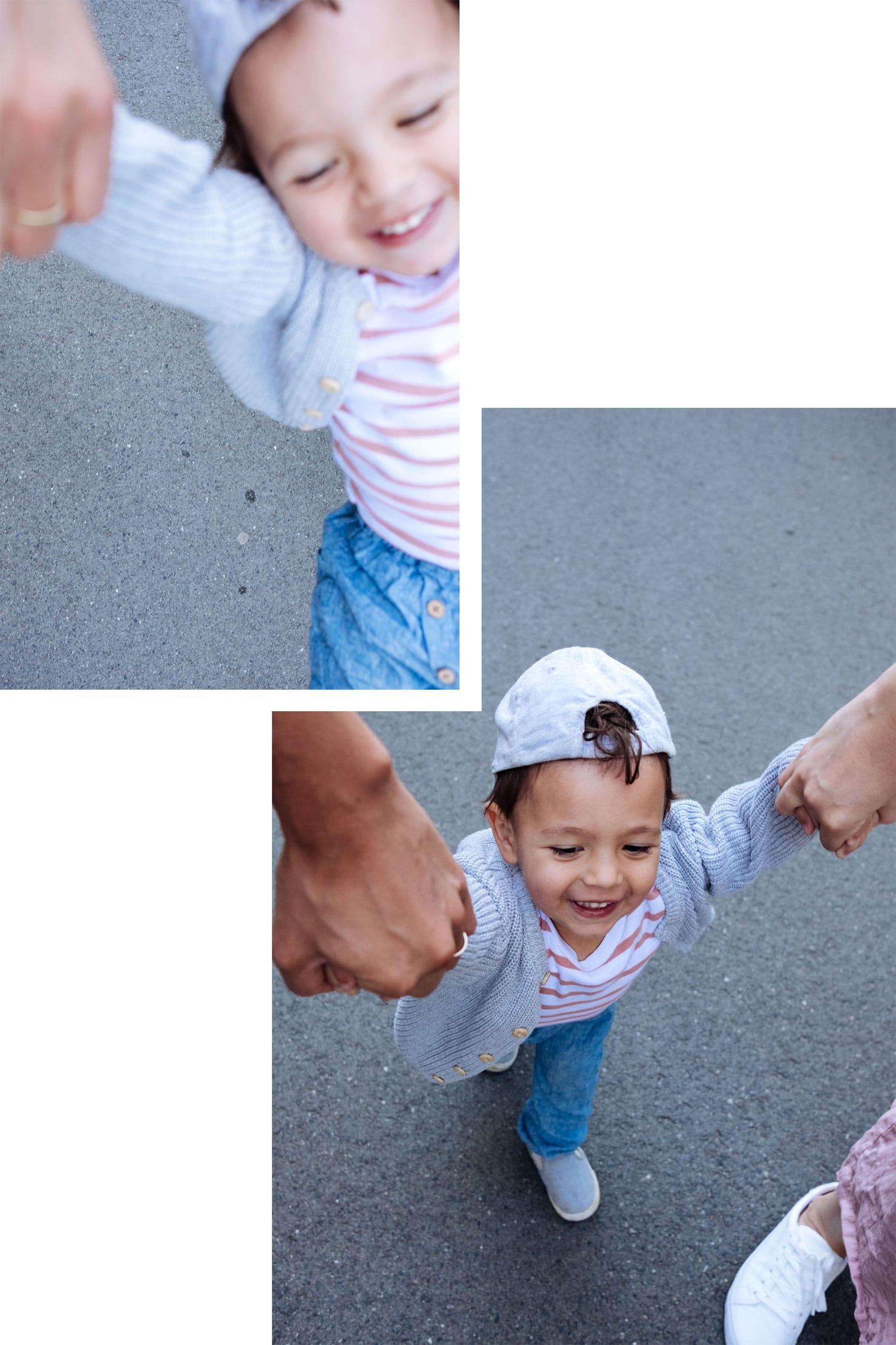 Familiensonntag | Unterwegs mit Fußball und Laufrad | Familienleben