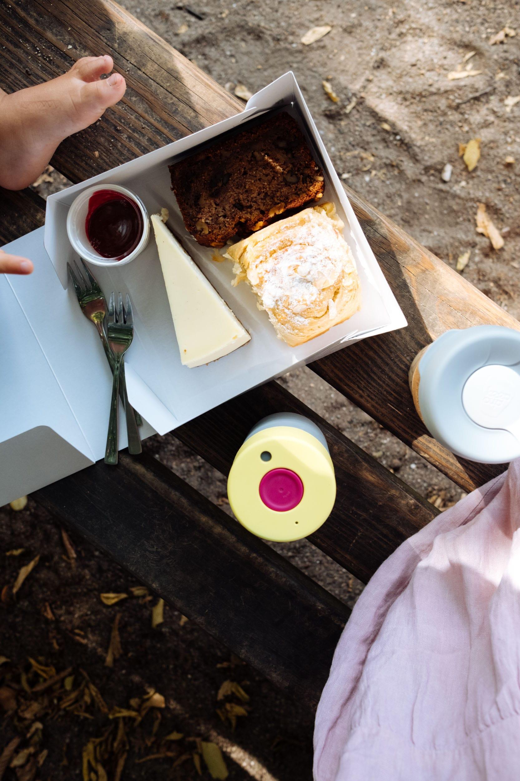 Familiensonntag | Unterwegs mit Fußball und Laufrad | Nachhaltige To Go Becher | KeepCup | Kuchen vom Elbgold