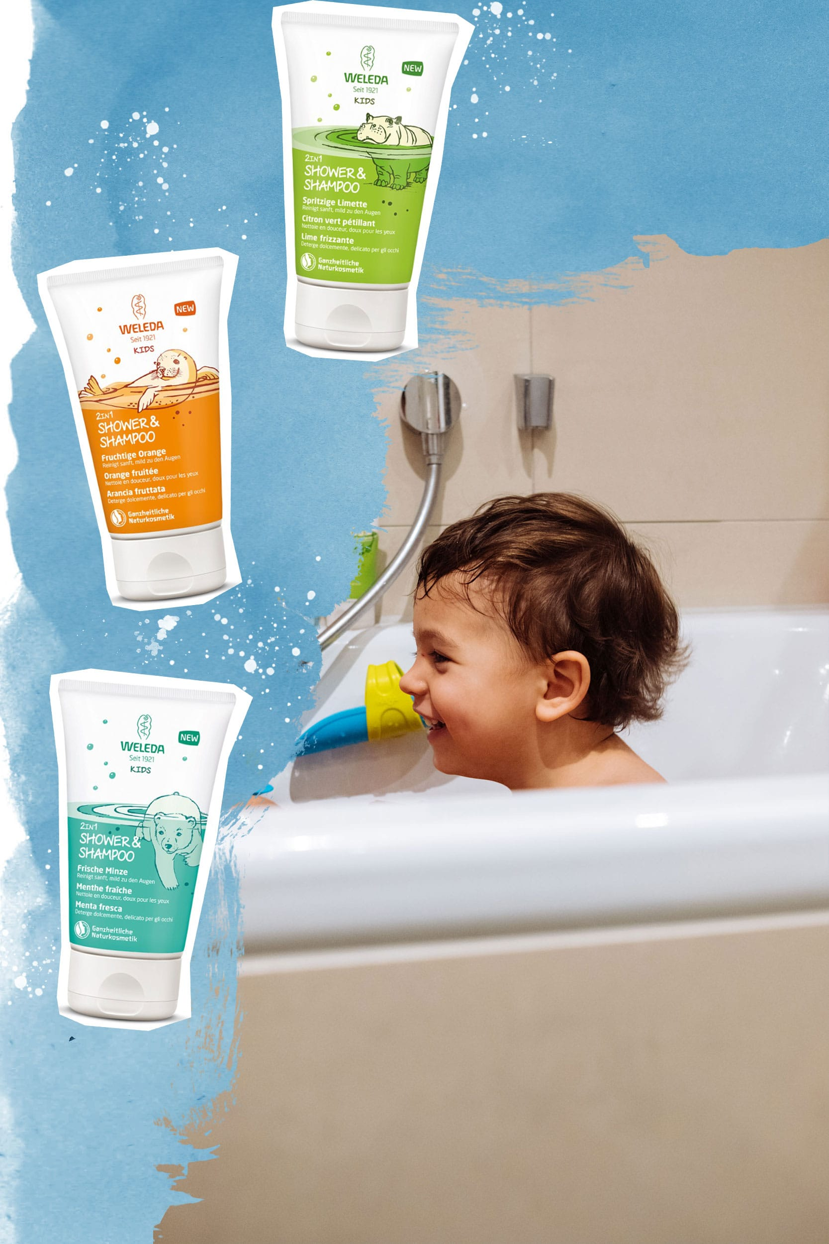 Weleda KIDS 2 in 1 Shower & Shampoo
