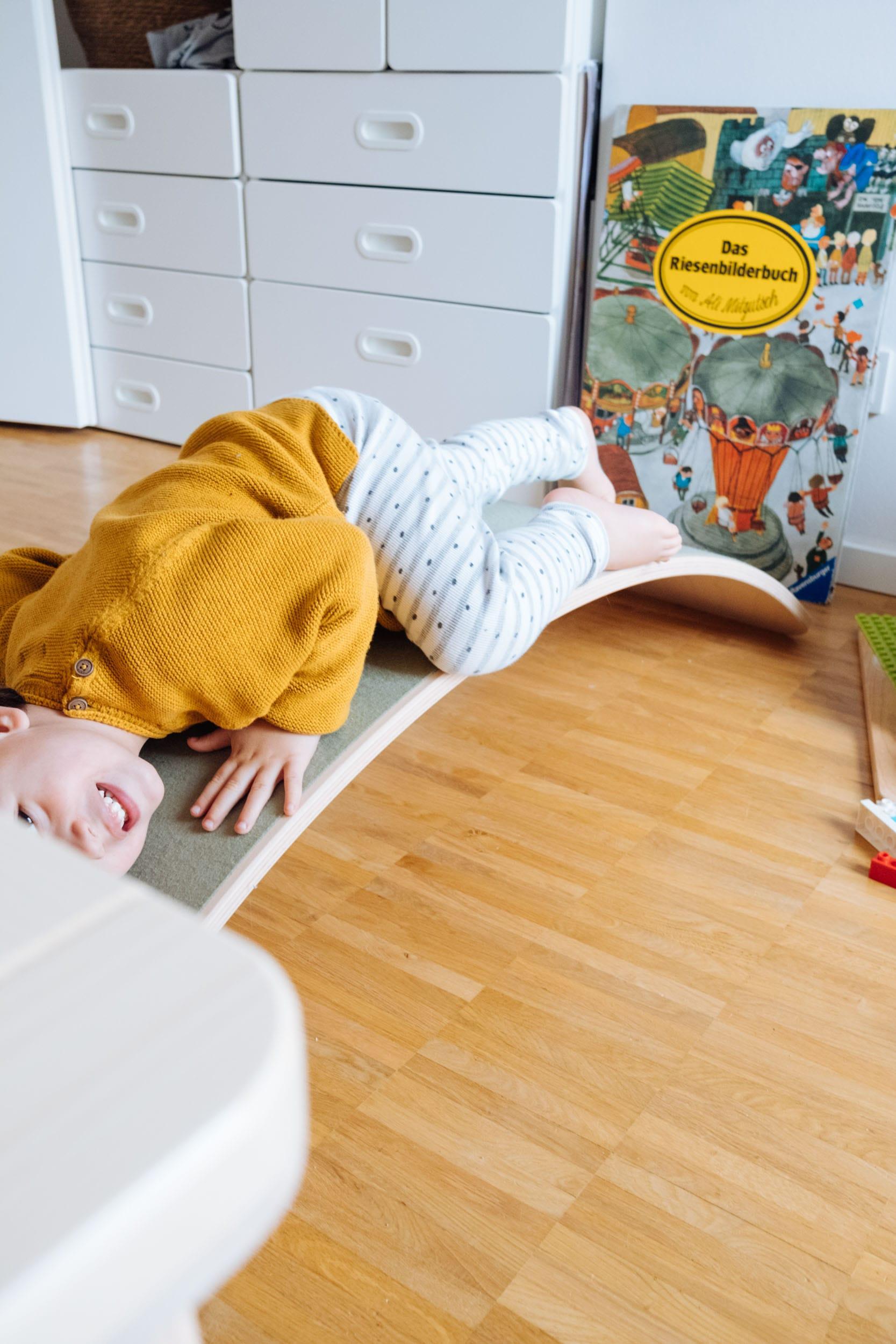 Das Wobbel Balance Board | Das Bewegungsspielzeug für Groß und Klein