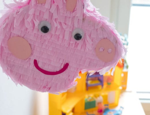 Peppa Pig DIY Mini Piñata