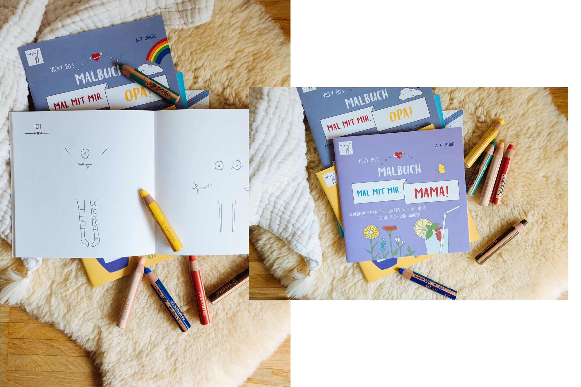 Kunterbunte Ostergeschenke | Die Neuen Bilder- und Mitmachbücher von Vicky Bo
